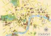 Lontoo, turistikartta