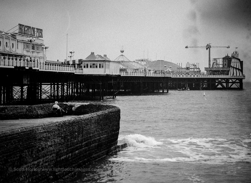Brighton Pier - low-fi film