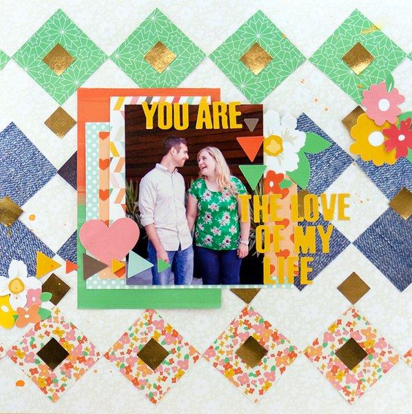 Allie Stewart Chickaniddy Crafts Pinterest Inspired Layout