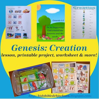 http://kidsbibledebjackson.blogspot.com/2013/06/genesis-series-creation.html