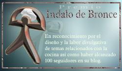 Premio Indalo de bronce de Trini Altea