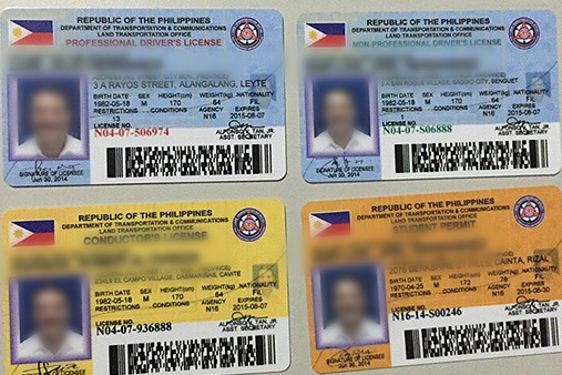 Design of the new LTO driver's license cards