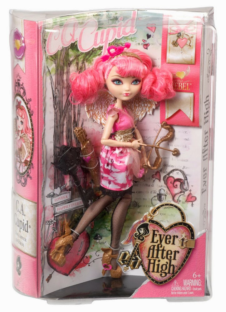 TOYS - Muñeca C.A. Cupid : Ever After High Rebel  Juguete Oficial  | Mattel BDB09 | Cupido | A partir de 6 años