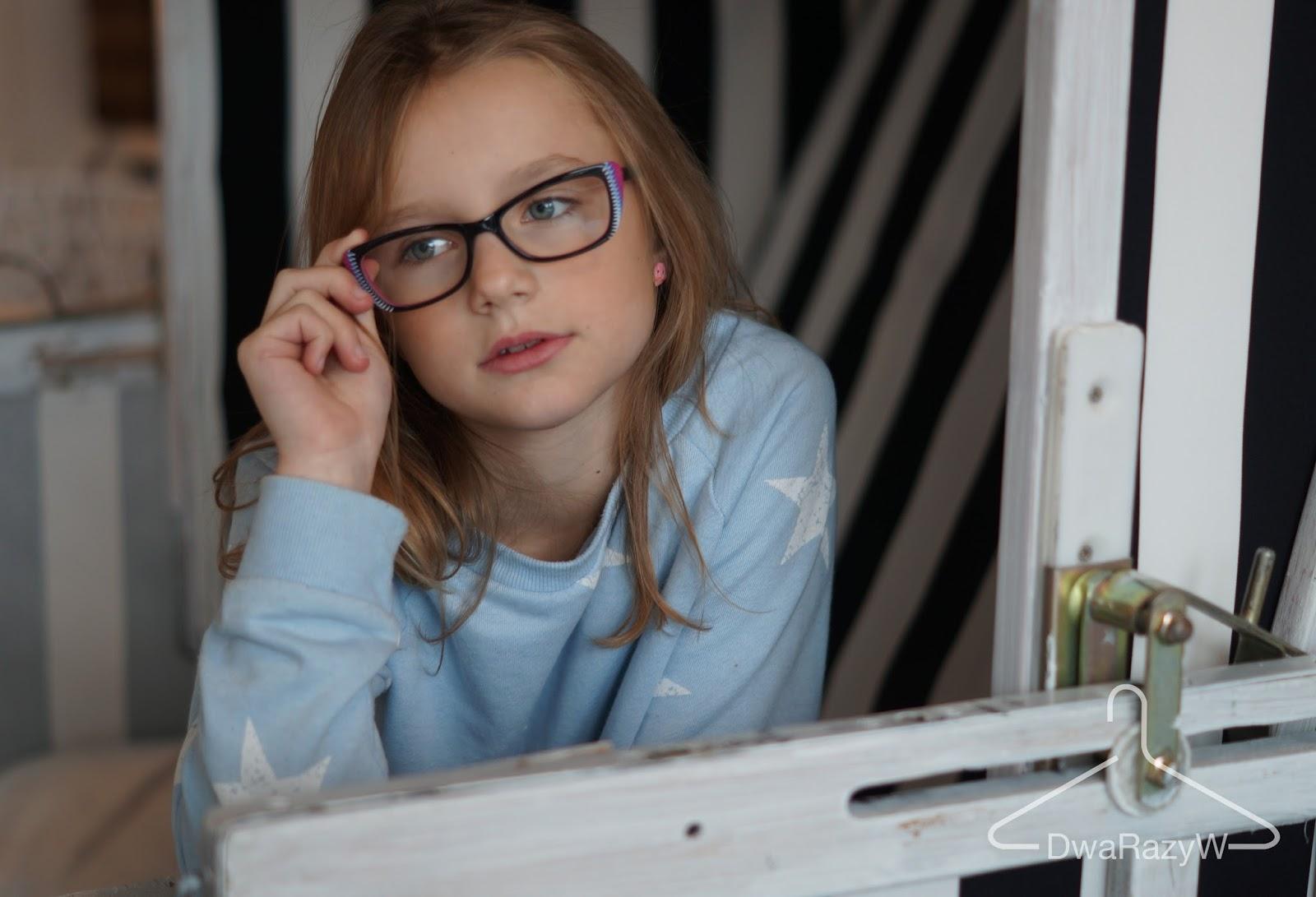 optyk trendy njoy blog o modzie DwaRazyW okulary dla dzieci i młodzieży okularnica