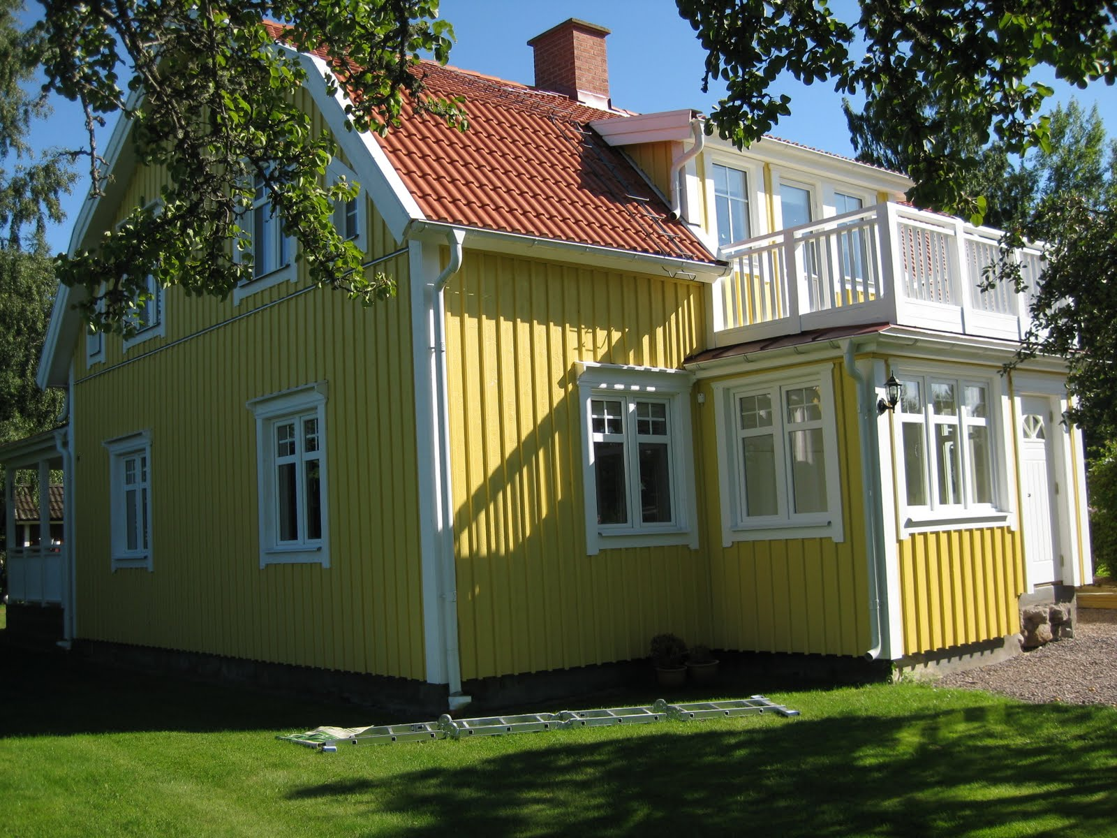 Trapp Till Veranda: Images about swedish veranda on. Family ...