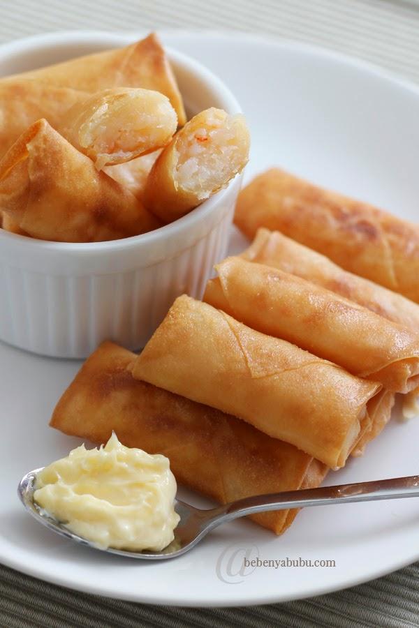 Resep Cara Membuat Lumpia Udang Mayonnaise!! Yummy