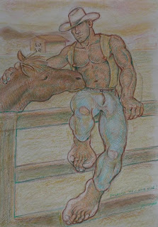 MALE DRAWING ART BLOG : PALANCA / PALANCAFEET DRAWING