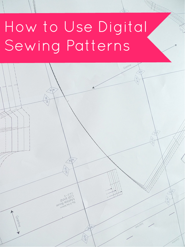 Tilly and the Buttons: How to Use Digital Sewing Patterns