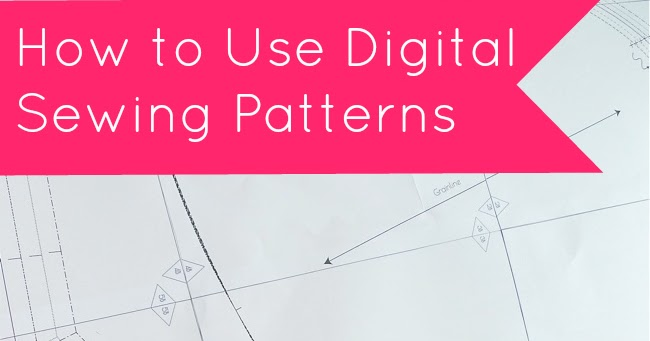 Tilly and the buttons how to use digital sewing patterns