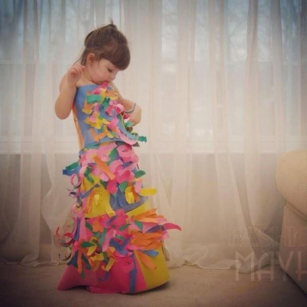 Blog ảnh: Nhà thiết kế thời trang 4 tuổi