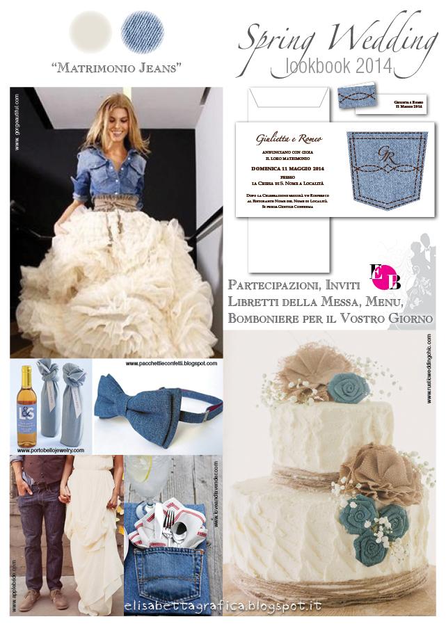 Al Matrimonio In Jeans : Elisabetta grafica spring wedding matrimonio jeans