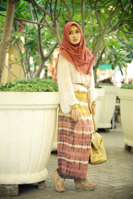 Model Rok Panjang Muslimah Casual Dian Pelangi Trendy