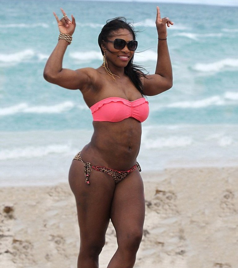 Serena williams thong