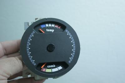 Painel marcador de Temperatura e Nível do Combustível do Chevette Tubarão