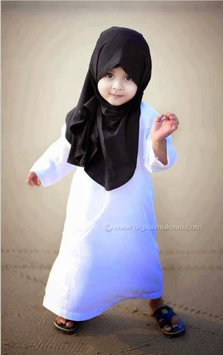 gambar comel anak perempuan bongsu ustaz azhar idrus