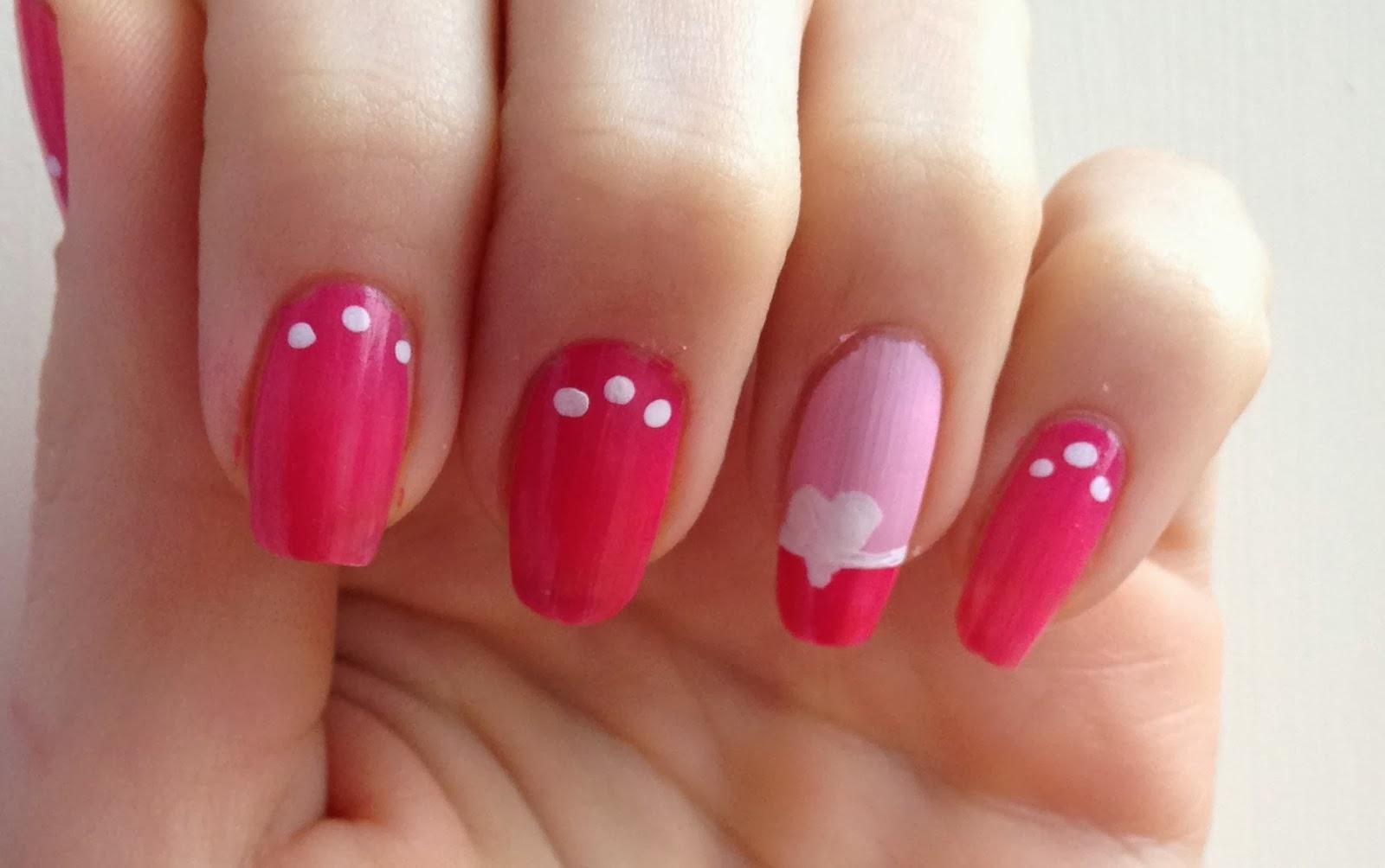 pink-nails-heart