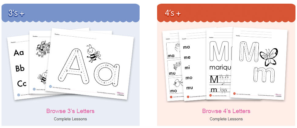 Free preschool worksheets age 3