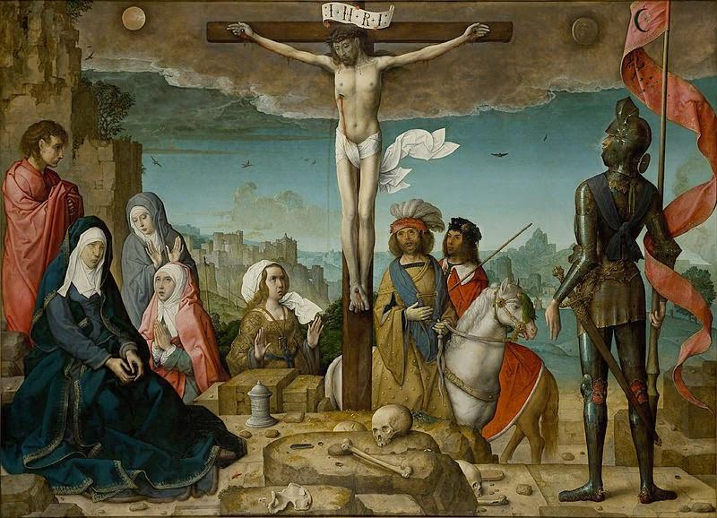 La Crucifixión - Juan de Flandes