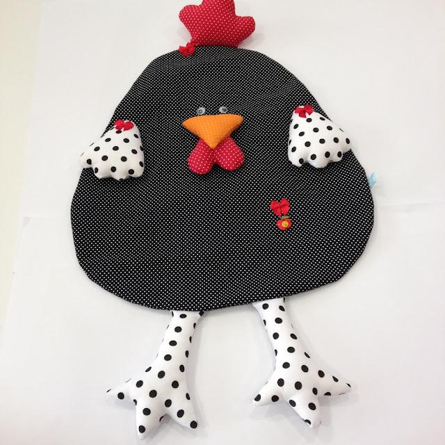 Puxa saco galinha | @ateliemadrica