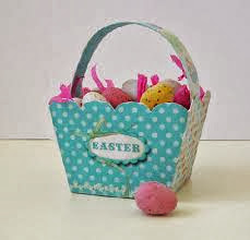 Easter Projects For Toddlers: Pretty Basket 6