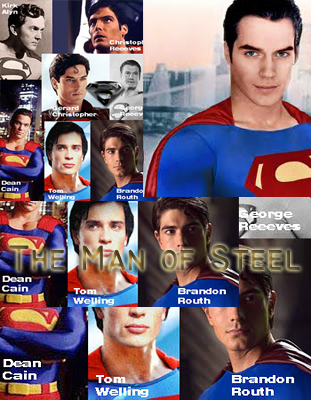 List Of Superman Actors From Christopher Reeves To Henry Cavill