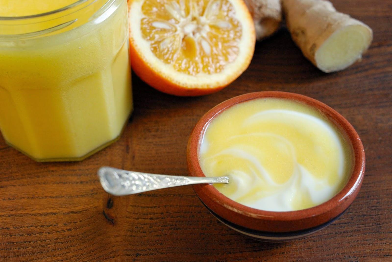 recette de pate a tartiner aux oranges de seville et gingembre