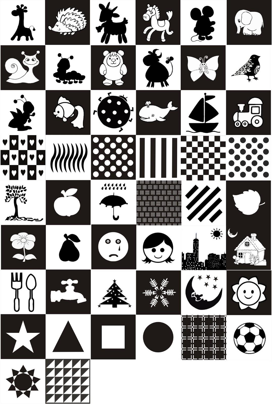 Черно-белые раскраски для печати