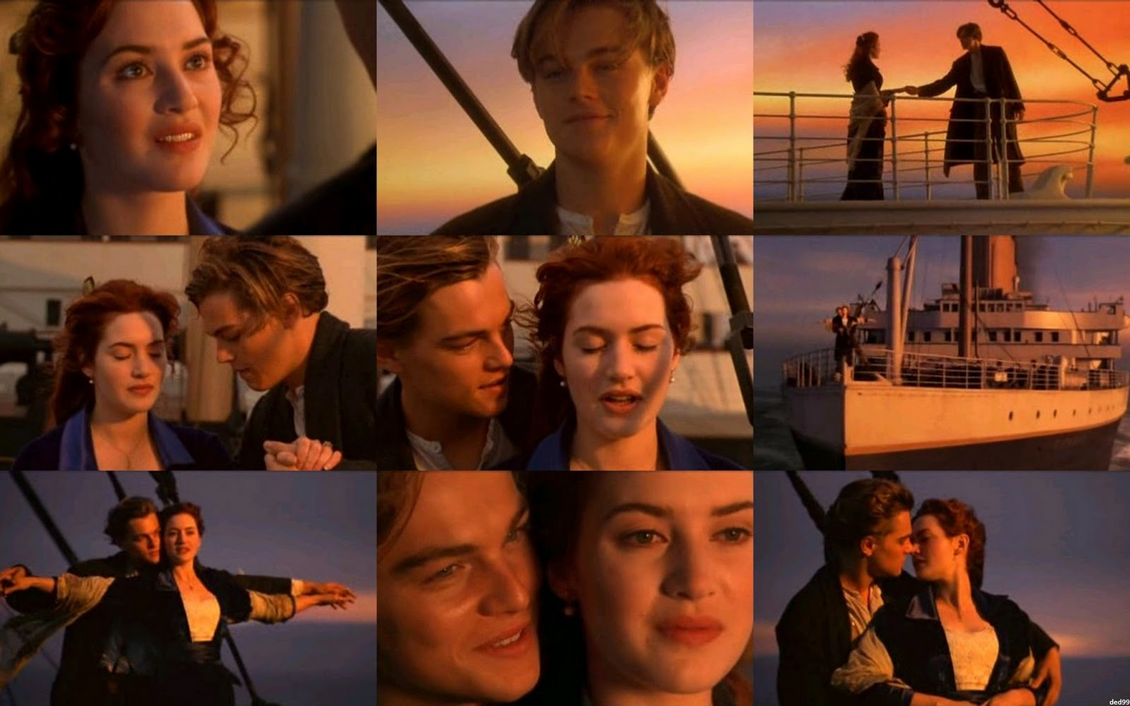 jack and rose - titanic 3d