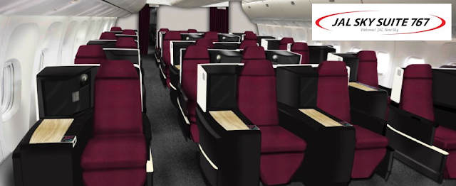 JAL will launch JAL SKY SUITE 767 on December 9 2013