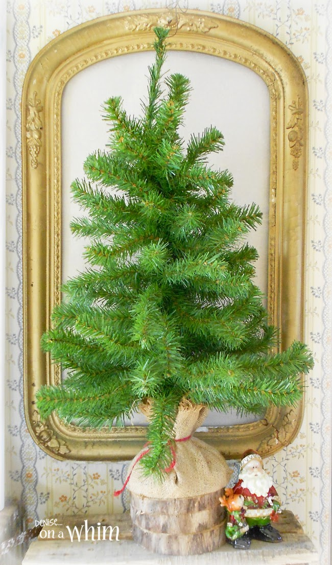 Framed Christmas Tree from Denise on a Whim