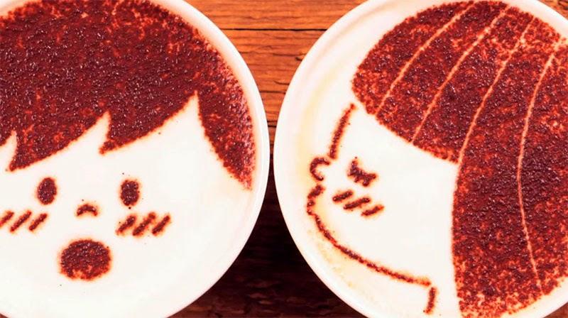 animación stop motion de 1000 cafés ilustrados
