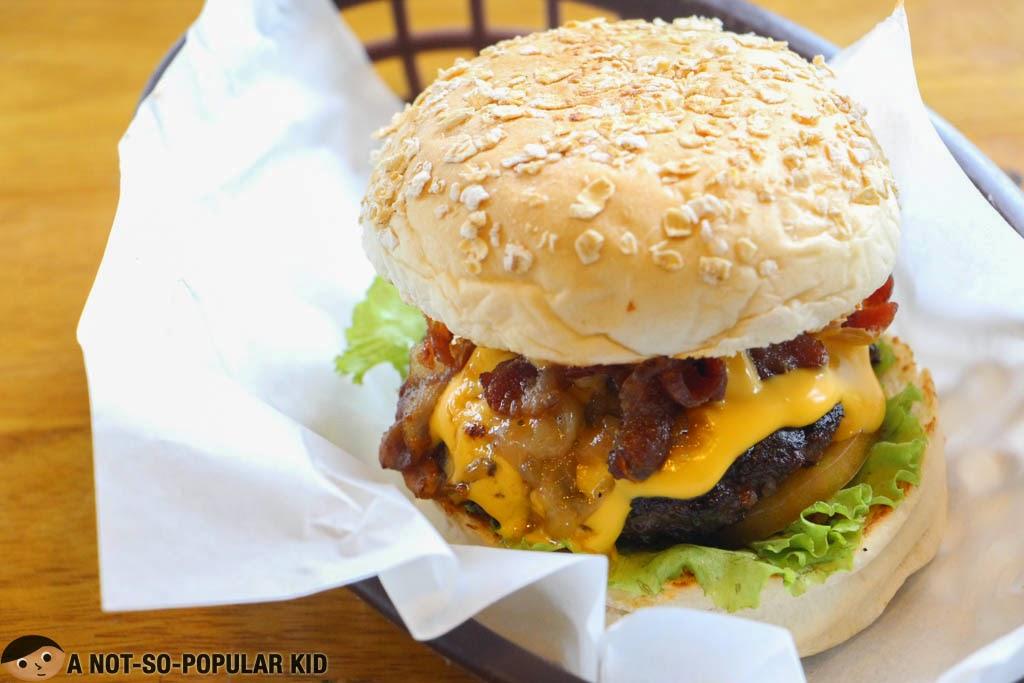 Fat Tony Burger of The Burgery