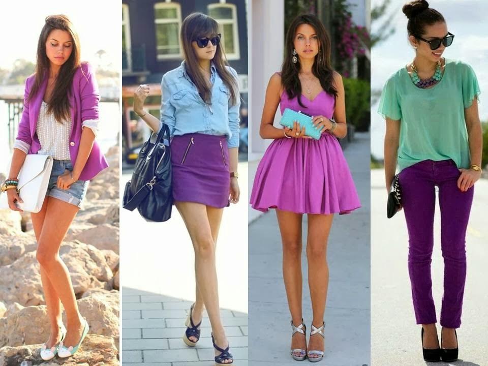 Tendências de cores para a primavera verão