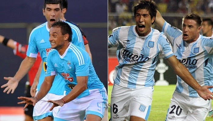 Racing Club vs Sporting Cristal en vivo