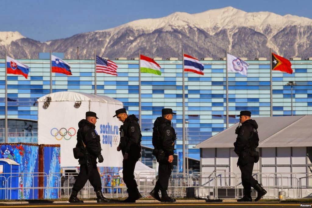 AS memperingatkan kemungkinan serangan teror pada Olimpiade Sochi