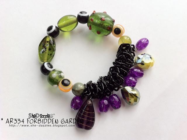 forbidden-garden-charm-bracelet