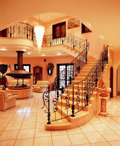y materiales para escalera