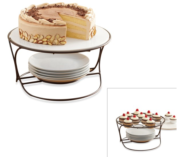 b smith 8piece cake and cupcake stand set rm