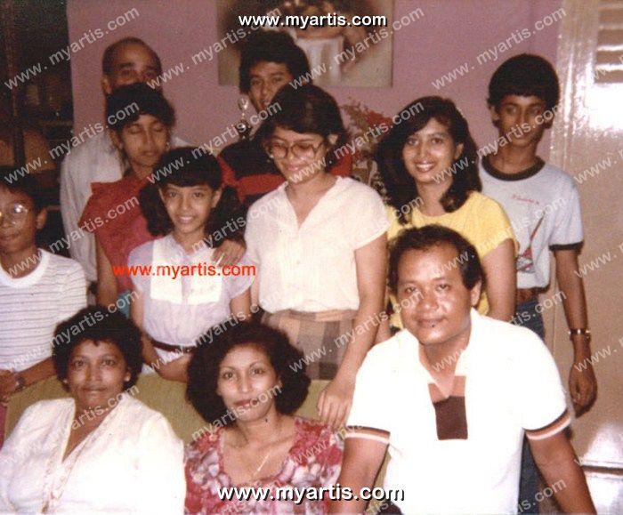 gambar 4 gambar mazuin hamzah kekal jelita usia 51 family