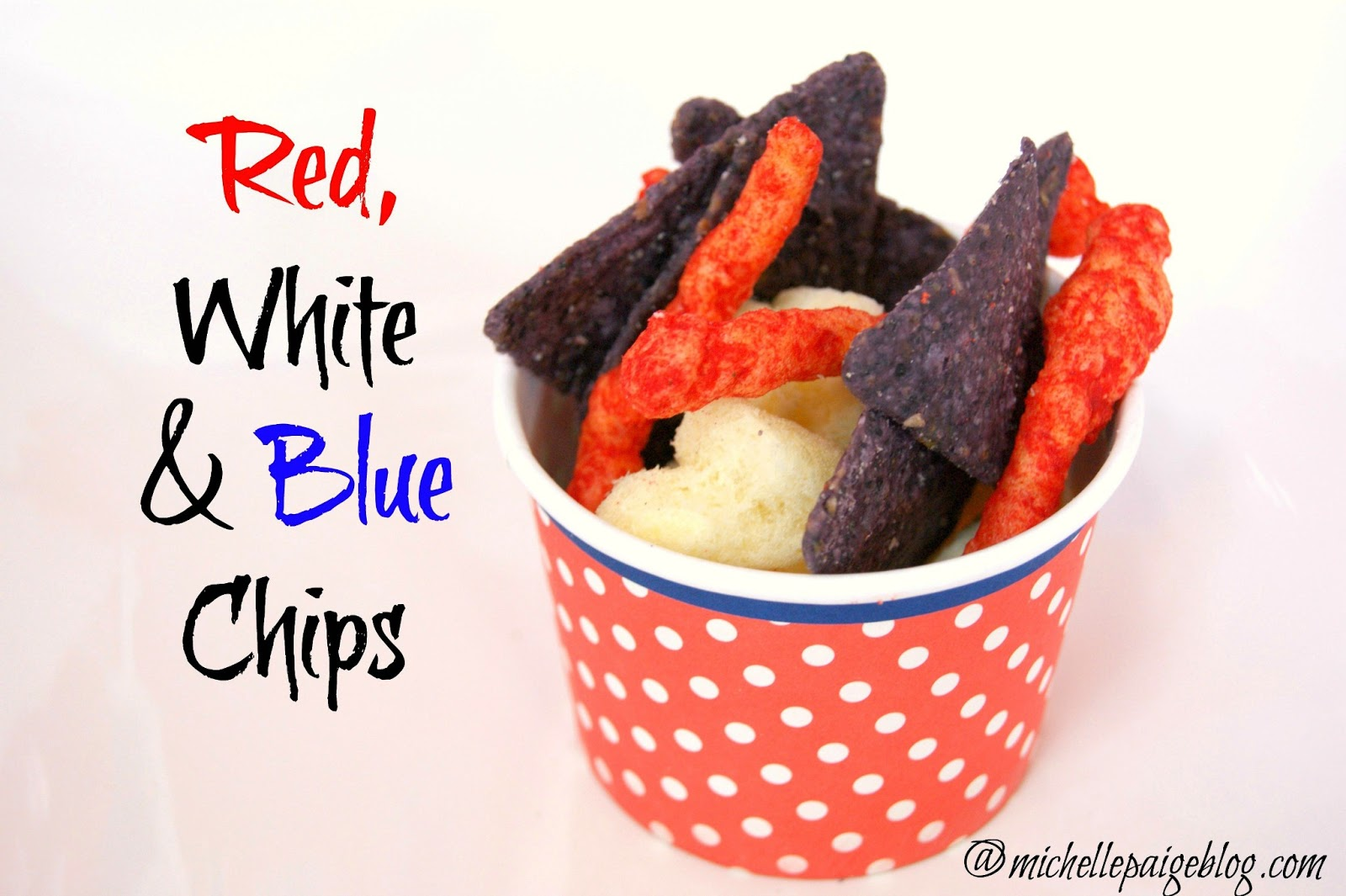 Red, White & Blue Chip Mix