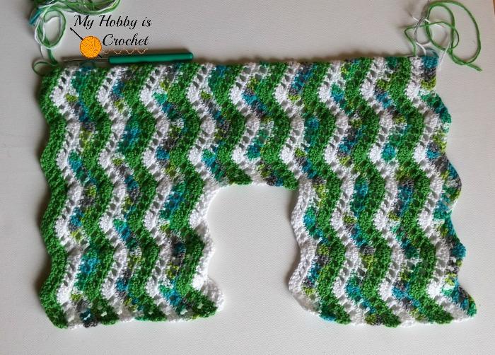 My Hobby Is Crochet: Tropical Waves Bolero | Free Crochet Pattern ...