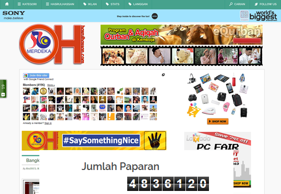 Tak follow tak mengapa ohblogger Malaysia
