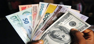 The Latest Exchange Rate Of Naira Against The Dollar