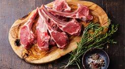 Karitsan ja kyytön lihaa