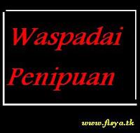 waspadai penipuan - karyafikri.blogspot.com