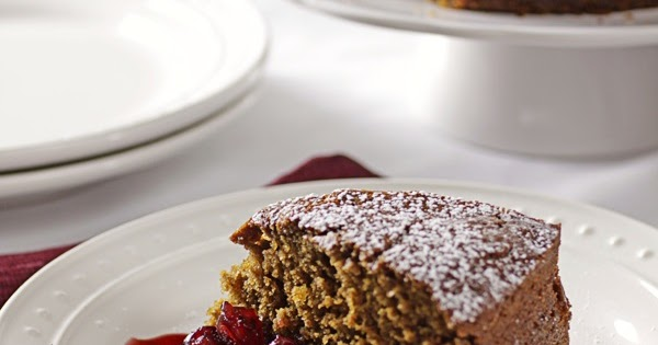 ... Take the Chill Off - Tyler's Ginger Spice Cake and Warm Cranberries