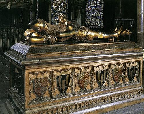 Resultado de imagen de Sepulcro del Príncipe Negro, en Canterbury
