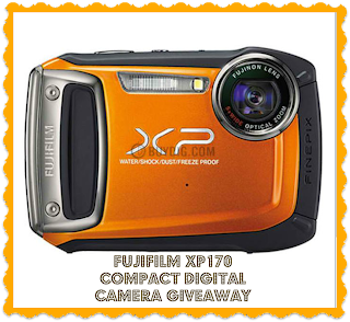 Enter to win a Fujifilm compact digital camera. Ends 12/17.