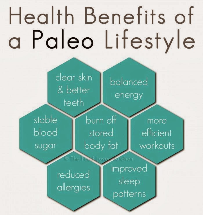 health benefits of paleo diet