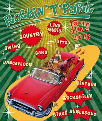 Poster fiera Rokin't'park Novegro giugno